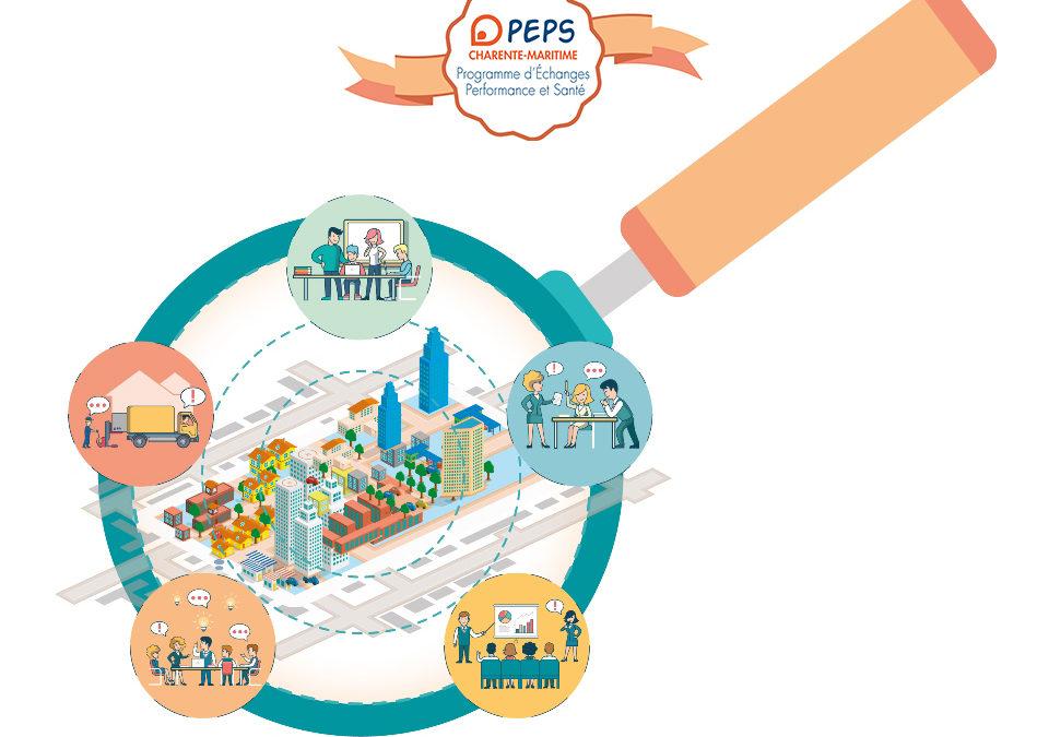 Le Groupe Hautier participe au programme d'échanges sur la perfomance et la santé appelé PEPS