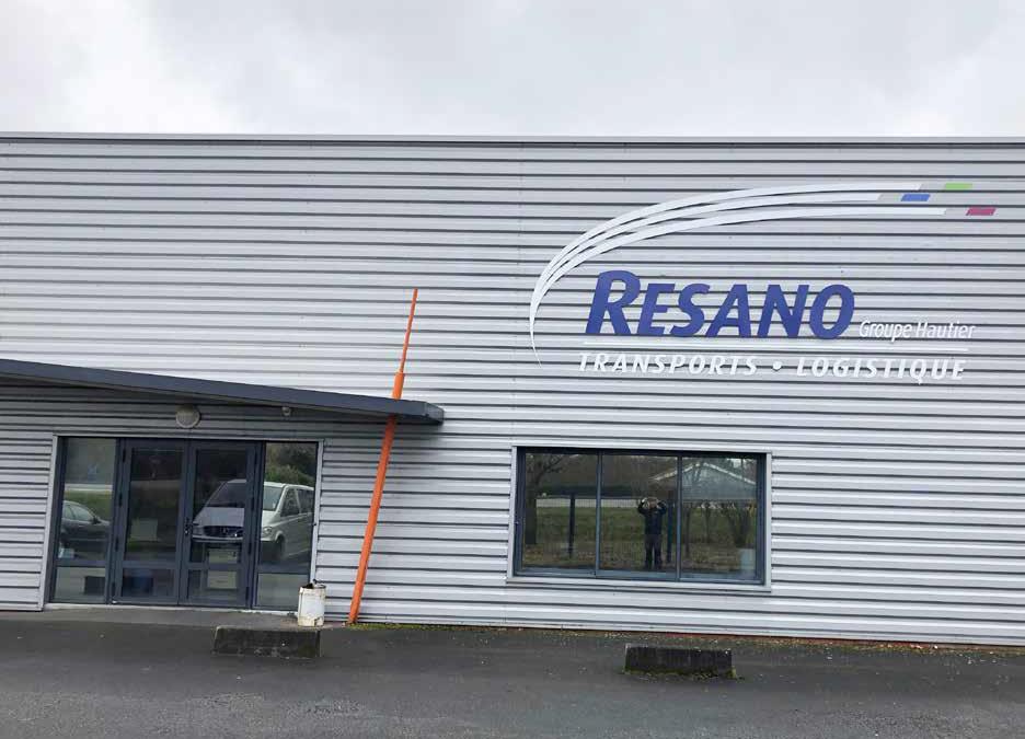 les Transports MONTEAU ont rejoint les effectifs de notre filiale RESANO